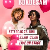 De Kers Events Presents: Jacin Trill and Bokoesam live on stage